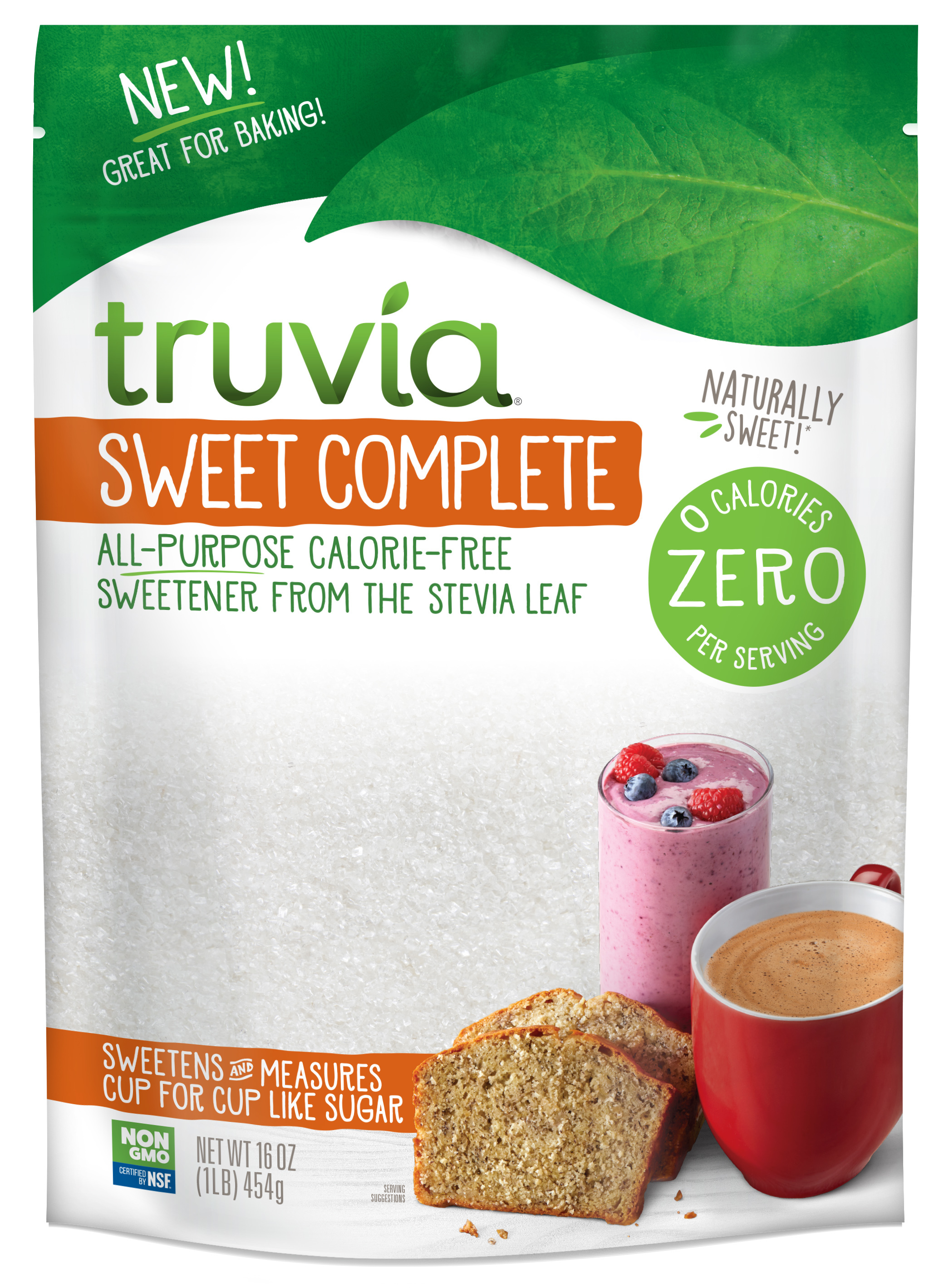 3 D Truvia Swt Comp 16oz Bag