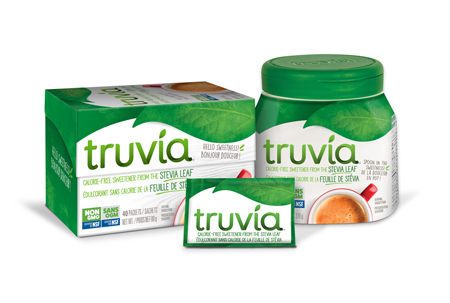 Non Gmo Truvia Can 40 Spoon Sachet 450X303