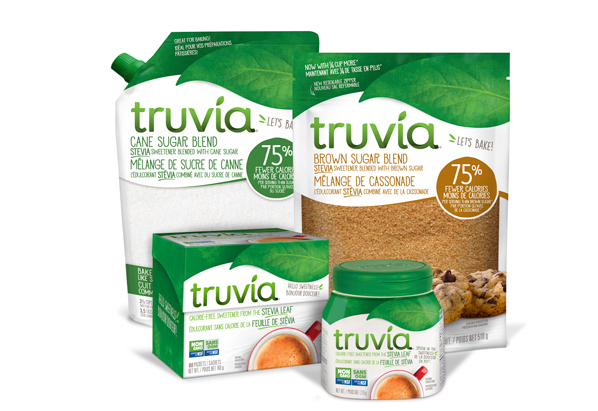 Non Gmo Truvia Can 80 Spoon Blends 598X411