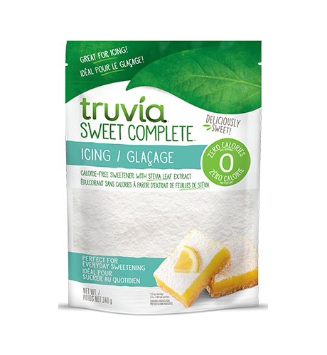 Bag of Truvia Sweet Complete Icing