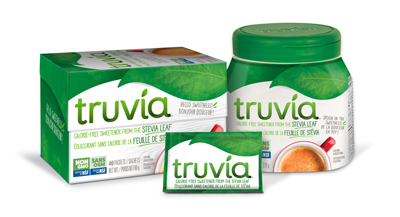 Non Gmo Truvia Can 40 Spoon Sachet 400X217