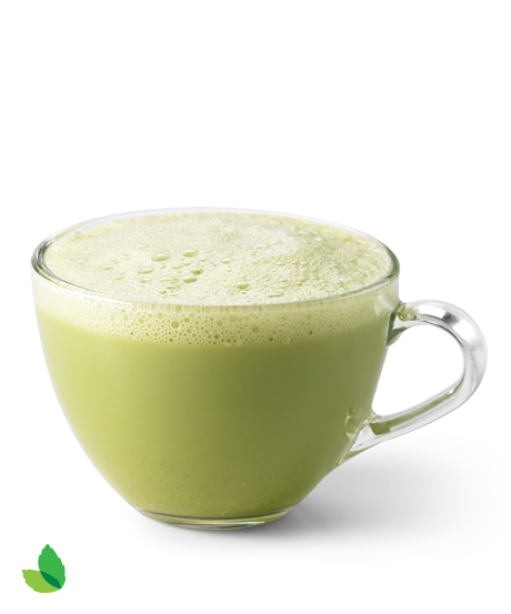 Matcha Green Tea Latte With Truvía® Nectar