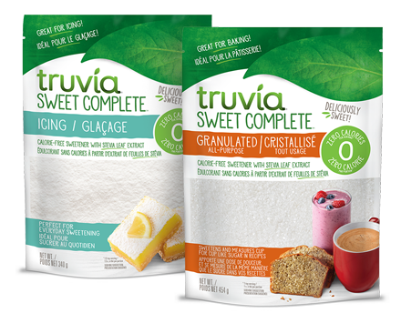 Bags of Truvia Sweet Complete