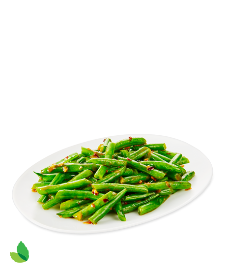 Spicy Green Beans Detail