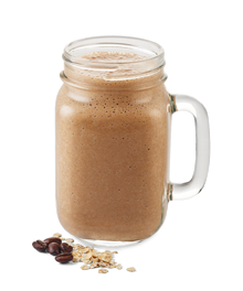 Rolled Oats Coffee Smoothie Results