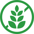 illustrated icon representing gluten free