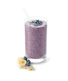 Result blueberry oat smoothie