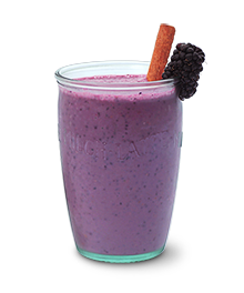 results Tripleberry Soymilk Smoothie 4